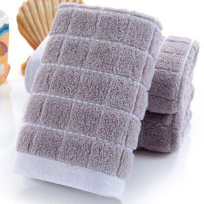 Jacquard Plaid Cotton Towel