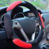 BT001 Four Season Universal Round Car Steering Wheel Cover - RUBY RED