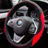 Automobile Universal 3D Stitching Anti-skid Steering Wheel Cover - RED