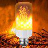 LED Flame Bulb Atmosphere Light for Home Decoration - ORANGE GOLD