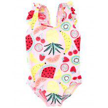 B - 002   Child Print One-piece Swimsuit