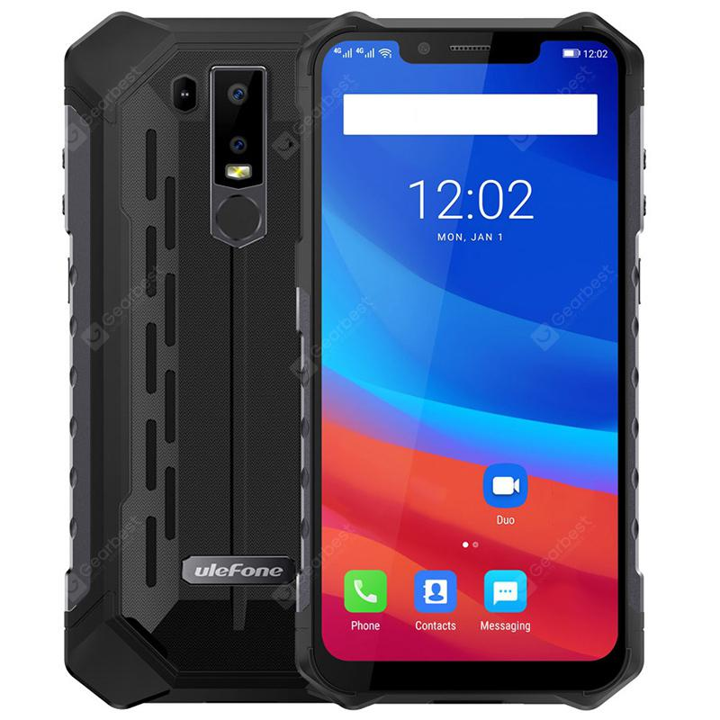 Ulefone Armor 6 4G Phablet - RED EUROPEAN UNION