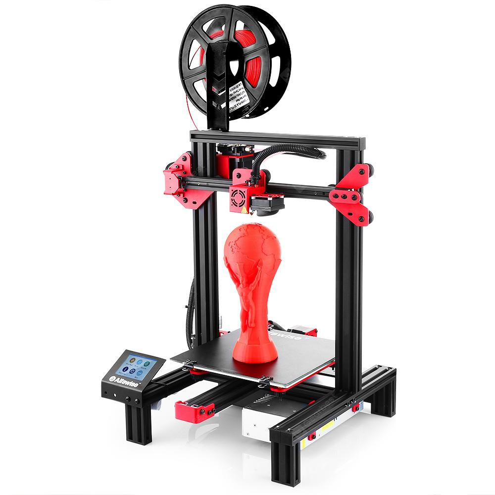 AlfawiseU302.8inchTouchScreenDIYDesktop3DPrinter-BlackU30EUPlug