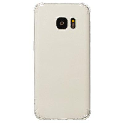 TPU Full Soft Drop-proof Transparent Phone Case for Samsung Galaxy S7