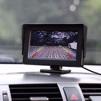 LCD Car 4.3 Inch Bracket Screen Visual Reversing Image Display