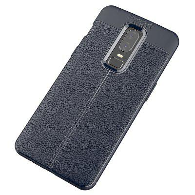 Leather Phone Case for OnePlus 6