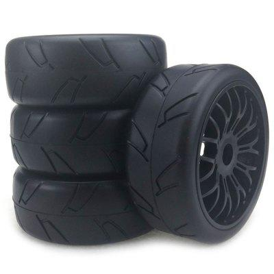 Strong Grip H Type Tire  for 1/8 Off-road Vehicle 4pcs