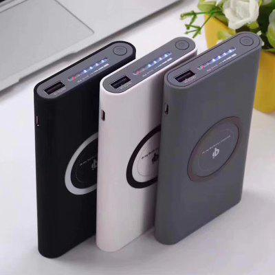 Three In One Wireless Charging Mobile Power QI Wireless Charging Treasure Mobile Power