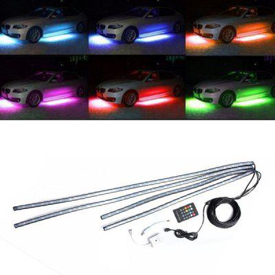 Colorful Voice-activated Car Chassis Decorative Atmosphere Light