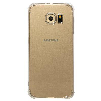 TPU Full Soft Drop-proof Transparent Phone Case for Samsung Galaxy S6