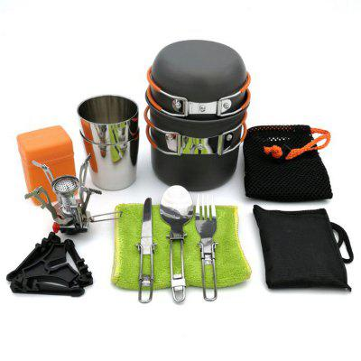 Refurbished DS101 Outdoor Camping Ultra Light Aluminum Pot Set