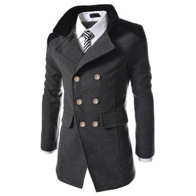 Men's Coats Stylish Turn-down Collar Comfort Warm