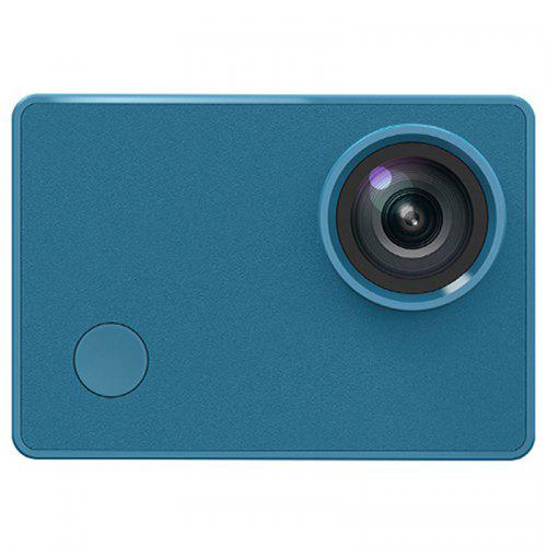 Gearbest XIAOMI SEABIRD 4K Action Camera 4K / 30 Frames Video Recording Portable Size - BLUE