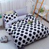 Free Dot Simple Fashion Bedding 4PCS - WHITE