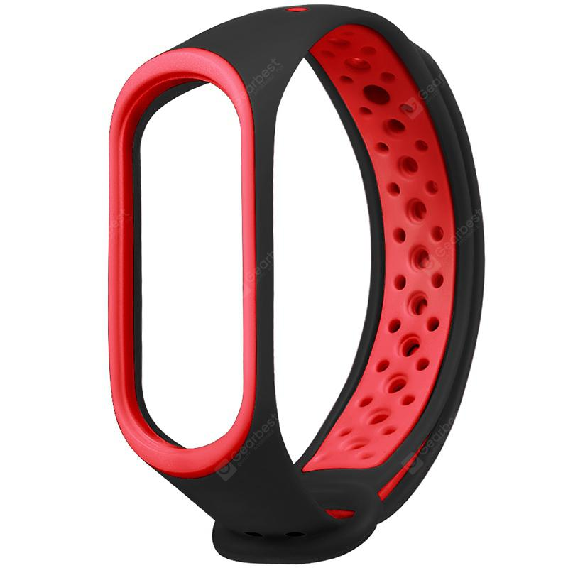 Two-color Buckle Wrist Strap for Xiaomi Mi Band 3