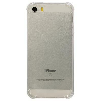 TPU Soft Transparent Phone Case for iPhone 5