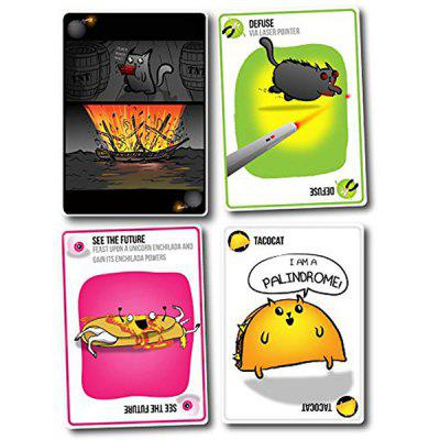 Red Cat Board Game Cards