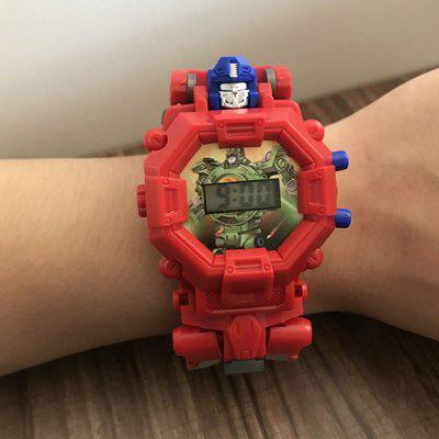Creative Electronic Watch Deformation Toy for Children