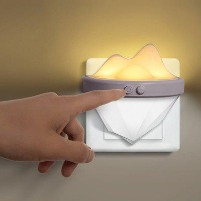 Creative Mini Iceberg Shape Night Light for Bedroom Corridor