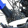 Motorcycle Bicycle Chain Cleaning Brush - LAPIS BLUE