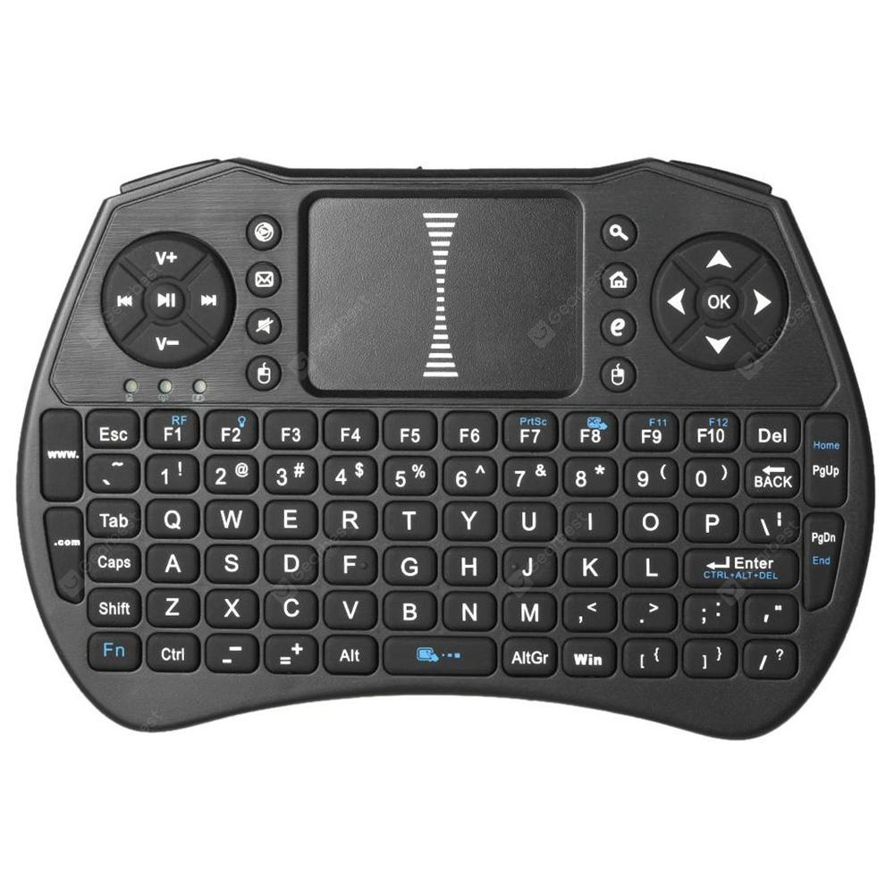 Alfawise A8 Wireless Keyboard Fly Air Mouse - BLACK