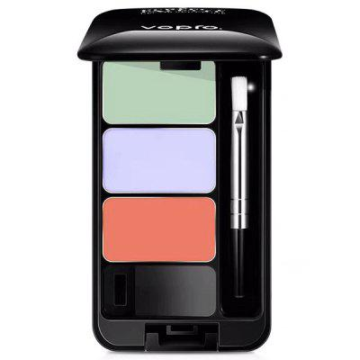 VOPRO Three-color Concealer Cover Dark Circles Acne Marks Spots