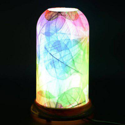 Qinyuan LED Simple Customizable Natural Art Pattern Table Lamp