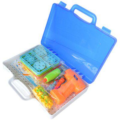 Copii Blocuri de construcție DIY Screw Tool Box Toy