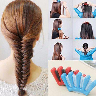 Girls DIY Sponge Hair Braider Plait Twist Braiding Tool 1pc