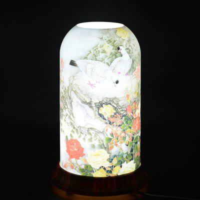 Qinyuan Home Decoration Painting Series Art Table Lamp