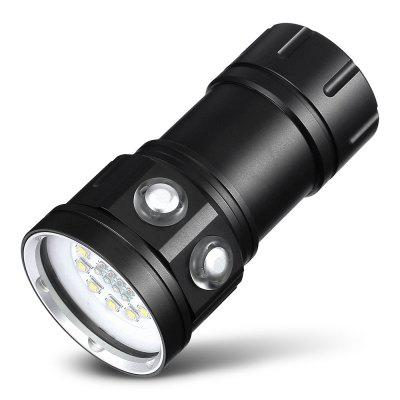 C11 Portable 120W Diving Flashlight for Underwater Photography