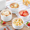 F19 Smart Appointment Electric Ceramic Lunch Box - WHITE