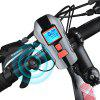 Waterproof USB Rechargeable Night Cycling Lights - BLACK