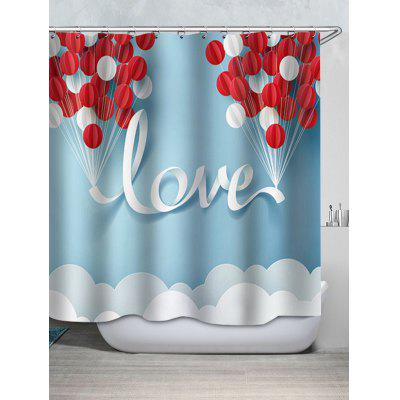 Shower Love Waterproof Waterproof Shower Curtain