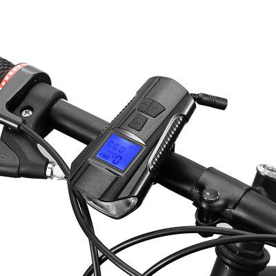 Refurbished Gocomma 3-in-1 Smart USB Charging Bike Computer Cycling Headlights Speaker Lamp