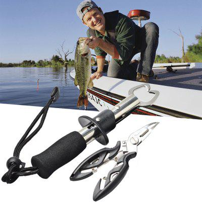 Stainless Steel Fish Grip Fishing Pliers Tool Kit