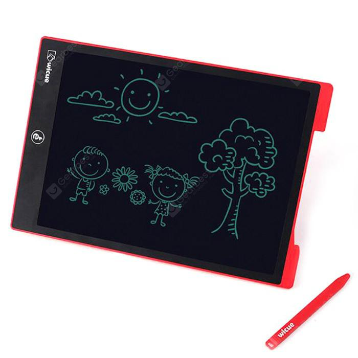 Wicue 12 pouces LCD Tablet ROUGE