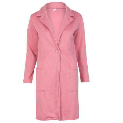 BA0222 Suit Collar Long Sleeve Coat Jacket