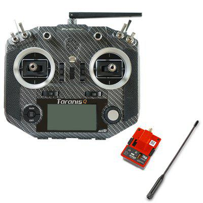 Frsky 2.4G 16CH ACCST Taranis Q X7S Transmitter with R9M 900MHz Transmitter Module