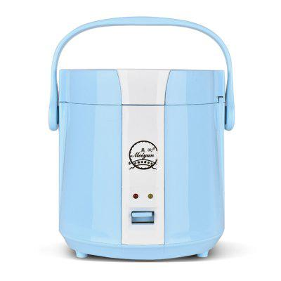 1.2L Mini Rice Cooker Multi-functional Student Dormitory Cooking Appliance