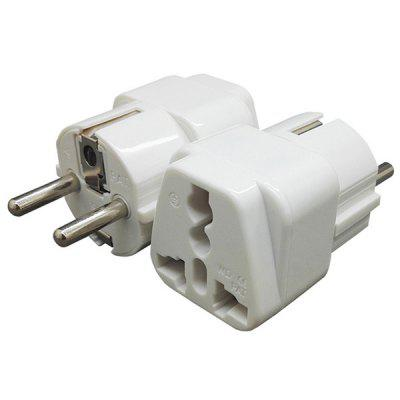 German Standard Conversion EU Travel Plug