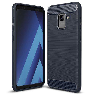 ASLING Carbon Fiber Series TPU Soft Phone Case for Samsung Galaxy A5