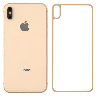 ZK Xuan Screen Series Different Version 3D Soft Side Gold Phone Back Film for iPhoneXs Max