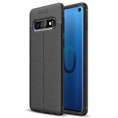 AISLING Litchi Couro Series Mobile Phone Case para Samsung Galaxy S10