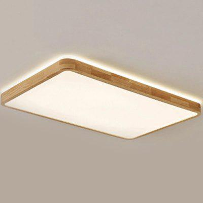 60W / 80W Nordic Solid Wood Simple Modern Ceiling Light