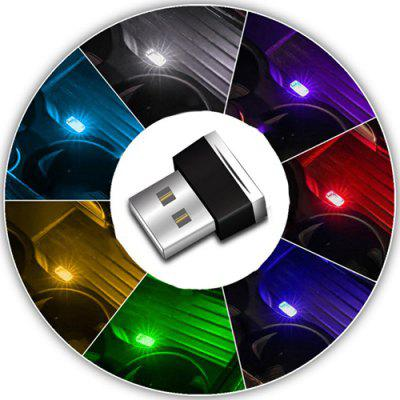 Criativo USB Ambient Light Car Light Lamp Car Smoke Light