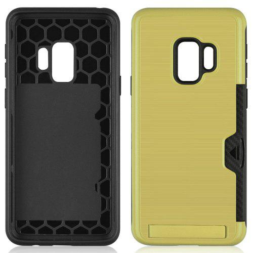 Ultra-thin TPU + PC Three-in-one Brushed King Mobile Phone Case