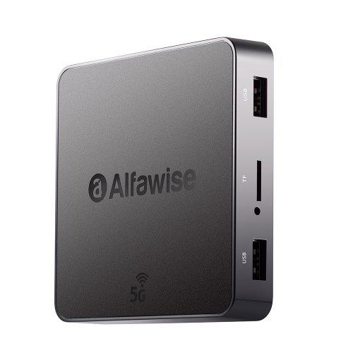 Alfawise A8 Pro 5G Wifi Magic TV Box