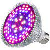 Full Spectrum 50W Greenhouse Planting LED Light - SILVER