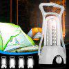 LED Camping Light Outdoor Rechargeable Tent Lamp - WHITE
